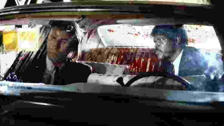 """Vincent e Vega em cena de """"Pulp Fiction"""" - Reprodução - Reprodução"""