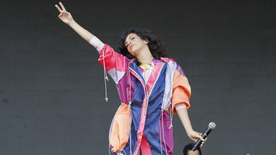 A cantora Céu se apresenta no Palco Sunset no Rock in Rio - Thyago Andrade/Brazil News