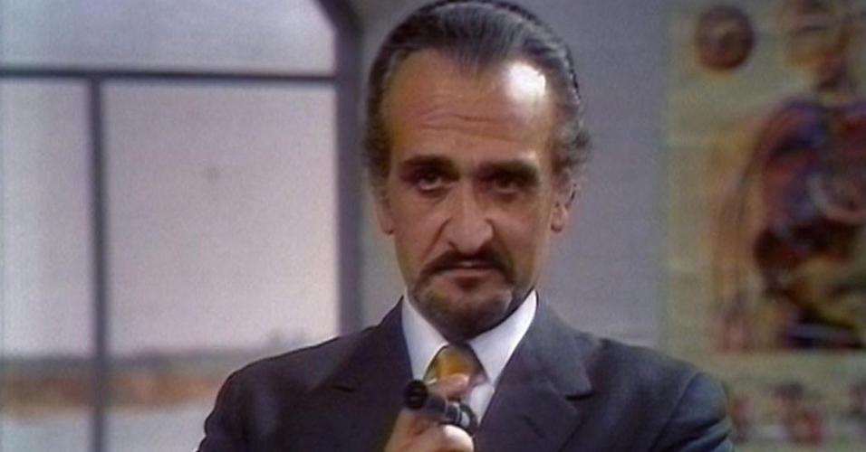 """Roger Delgado em cena de """"Doctor Who"""""""
