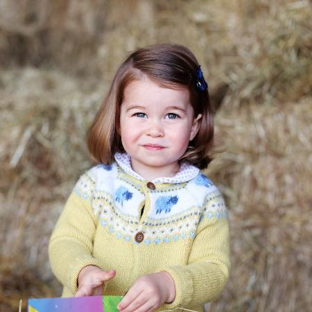 A princesa Charlotte - Getty Images