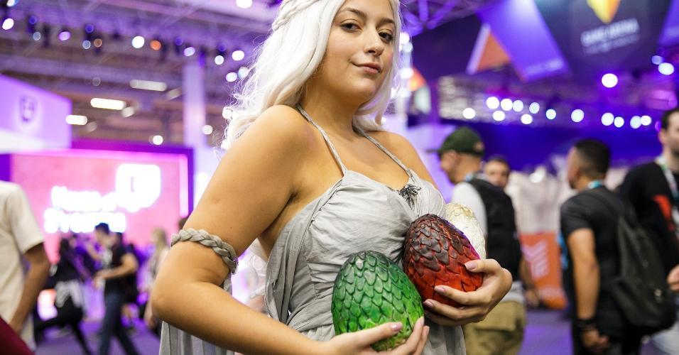 "A personagem Daenerys Targaryen, de ""Game of Thrones"""