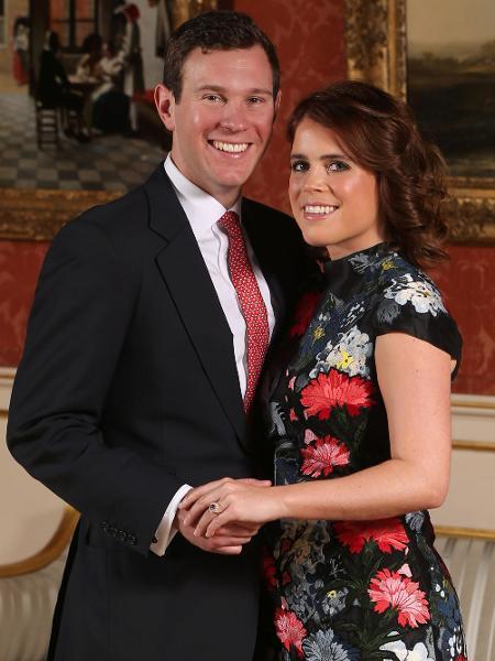 Princesa Eugenie e o noivo, Jack Brooksbank - Getty Images