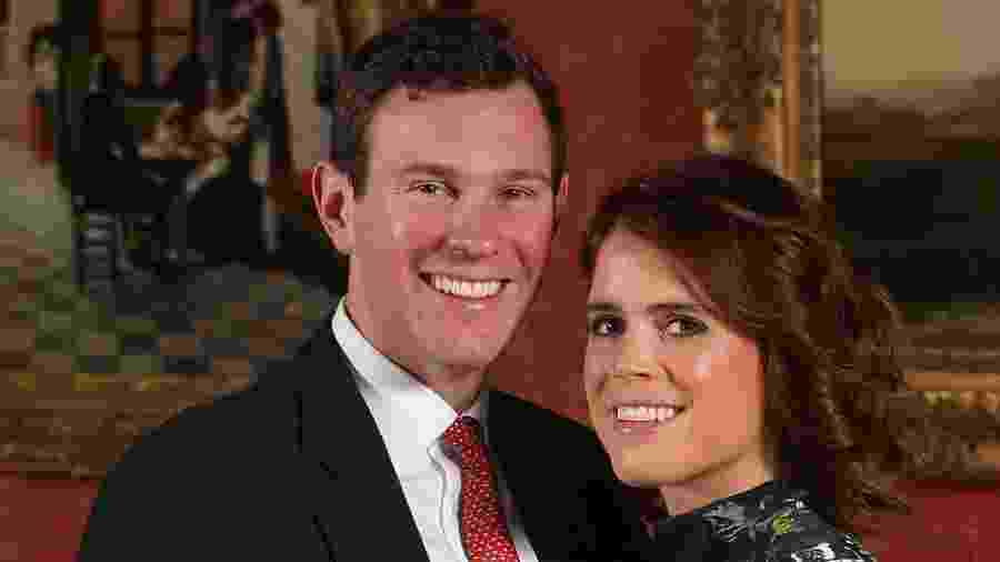 Princesa Eugenie e o noivo, Jack Brooksbank - Getty Images