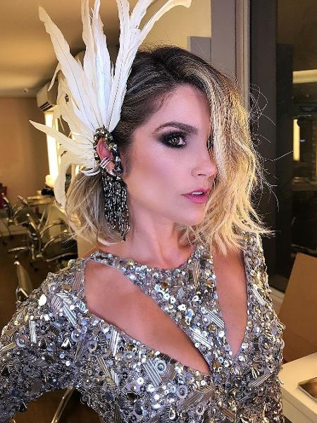 Maquiador postou make de Flávia Alessandra antes do Baile da Vogue - Instagram/Reprodução