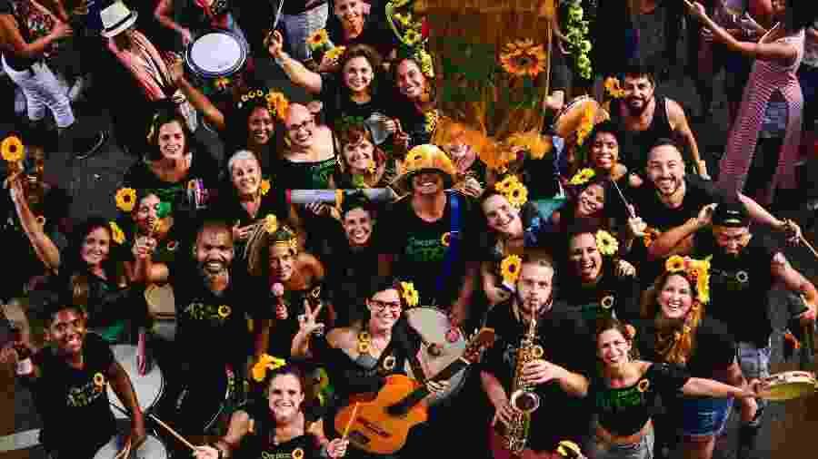 Bloco novato lotou ensaios no pré-carnaval e promete desfile oficial animado  - Divulgação