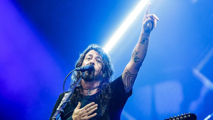 Dave Grohl, vocalista do Foo Fighters - Lucas Lima/UOL
