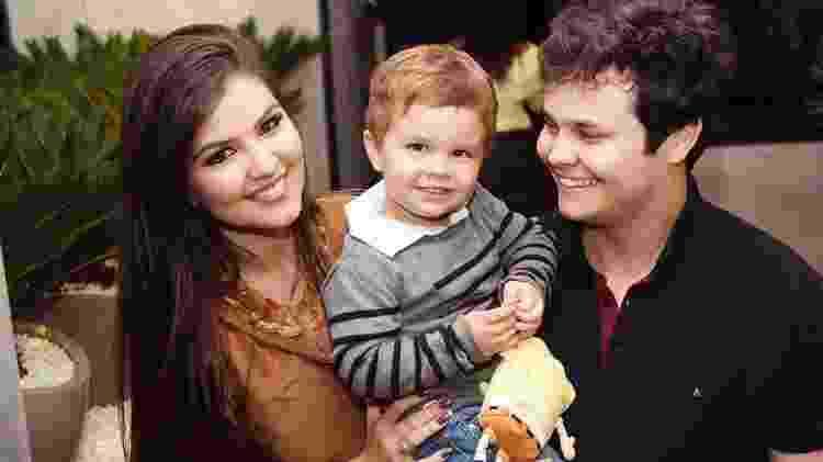 Davi levará as alianças dos pais Matheus e Paula - Reprodução/Instagram - Reprodução/Instagram