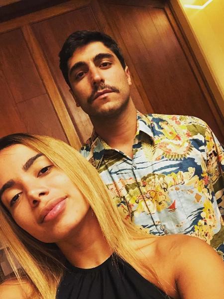 Anitta e Thiago Magalhães - Reprodução/Instagram