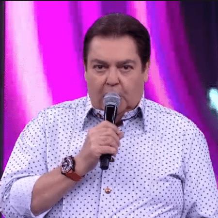 Faustão corrigiu informação dada na semana passada - Reprodução/Globo