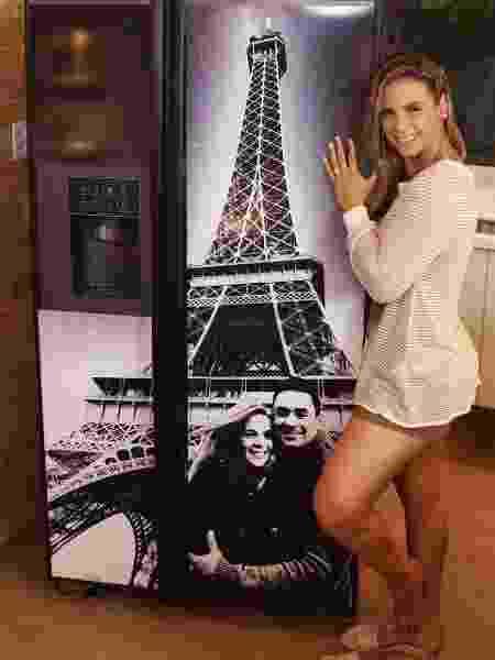 Carla Perez e Xanddy em Paris viraram estampa de geladeira - Reprodução/Instagram