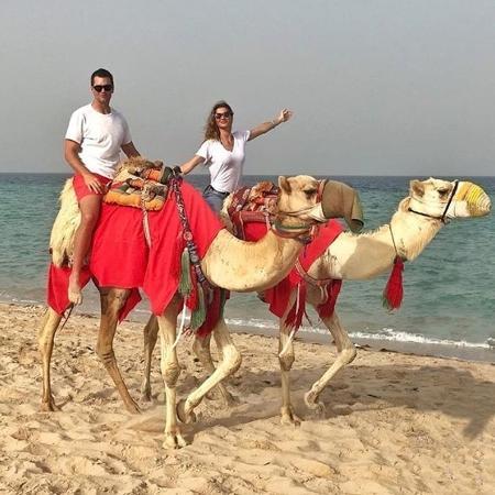 Gisele está em viagem no Qatar com o marido Tom Brady - Reprodução/Instagram/@gisele
