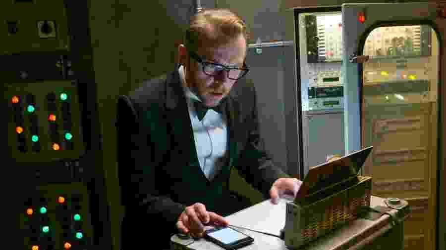 """Simon Pegg em cena no filme """"Missão: Impossível - Rogue Nation"""" - David James/Paramount Pictures"""