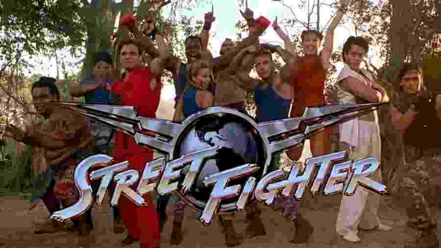 """""""Street Fighter - A Última Batalha"""", de 1994 - Divulgação"""
