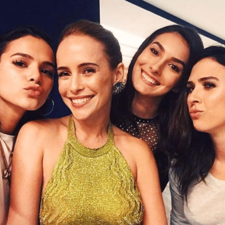 Bruna Marquezine, Fernanda Nobre, Marina Moschen e Tatá Werneck - Reprodução/Instagram