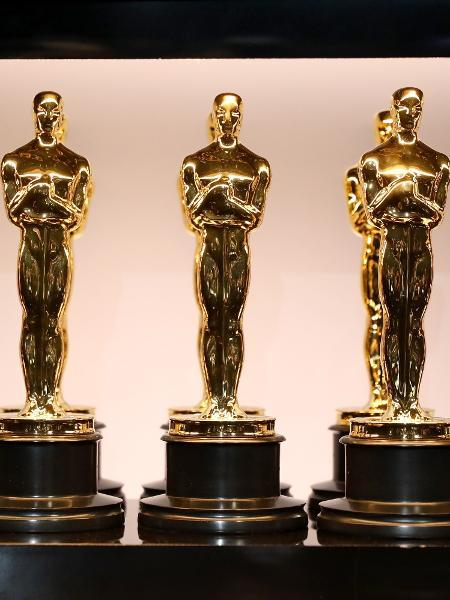 Estatuetas do Oscar antes da premiação de 2018 - Matt Sayles/A.M.P.A.S. via Getty Images