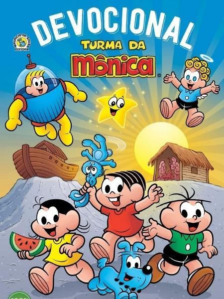 """Capa do livro """"Devocional Turma da Mônica"""" - Divulgação"""