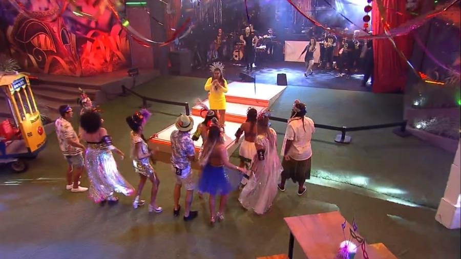 Carnaval: brothers curtem festa BBBloco - Reprodução/GloboPlay
