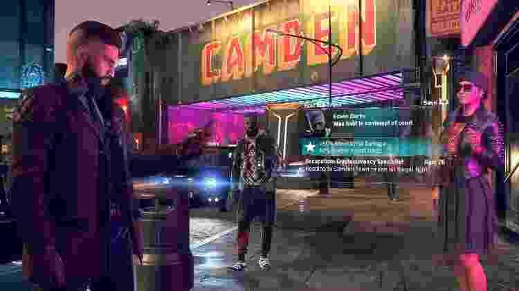 Icônico bairro de Camden também aparecerá no novo Watch Dogs - Divulgação