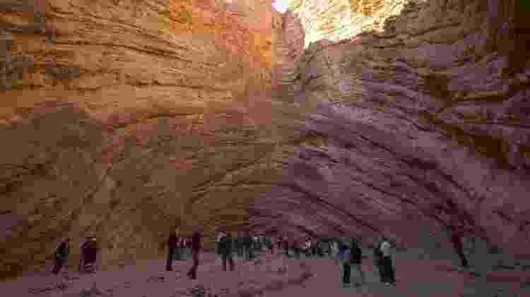 Anfitetatro é uma das impactantes formações rochosas - Divulgação/Destino Argentina  - Divulgação/Destino Argentina