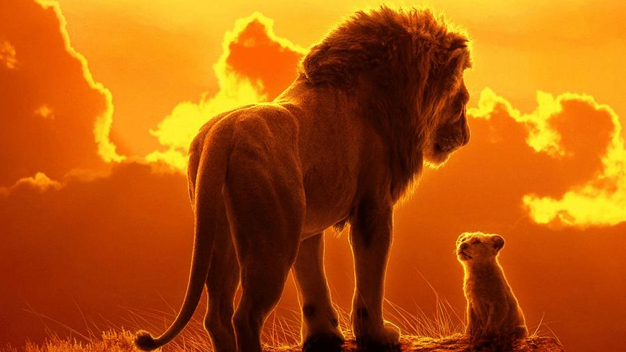 Pôster de O Rei Leão - Reprodução