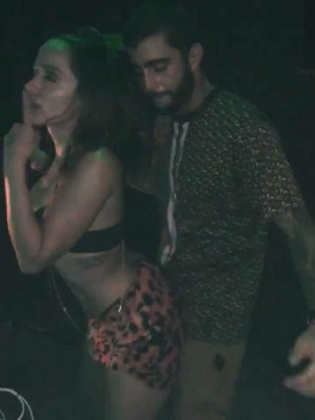 Anitta dança com Pedro Scooby - Reprodução/Instagram