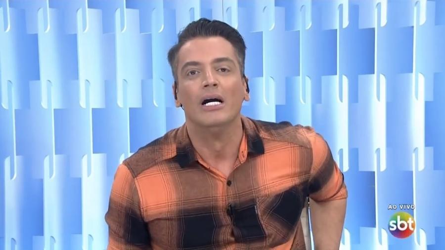 Leo Dias no Fofocalizando - Reprodução/SBT