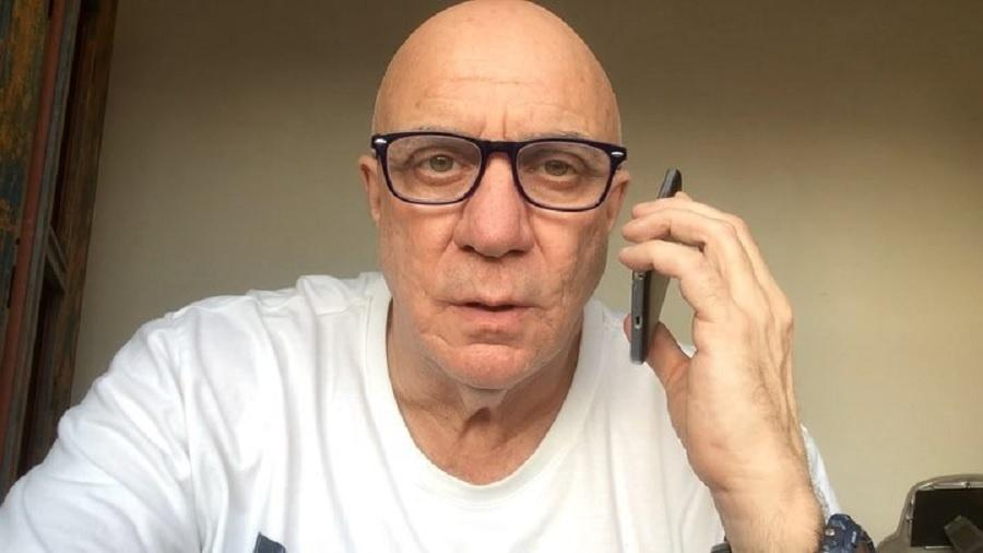 Riba Carlovich, ex-roteirista do Domingão do Faustão - Reprodução/Instagram