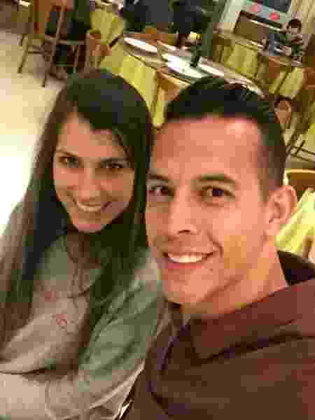 Danilo Padilha com a mulher, Letícia - Reprodução/Instagram