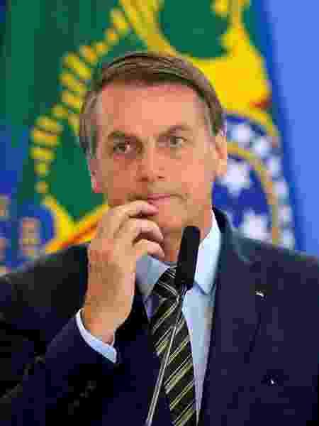 O presidente Jair Bolsonaro é reprovado por 41% dos cariocas; 60% se recusariam a votar em candidato apoiado por ele - Adriano Machado/Reuters