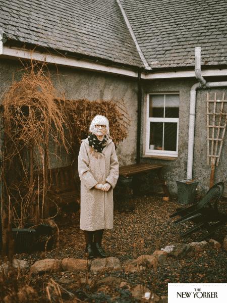 """Joanne Cameron encara a dor como """"uma coisa abstrata"""" - Reprodução/Kamila Lozinska/The New Yorker"""