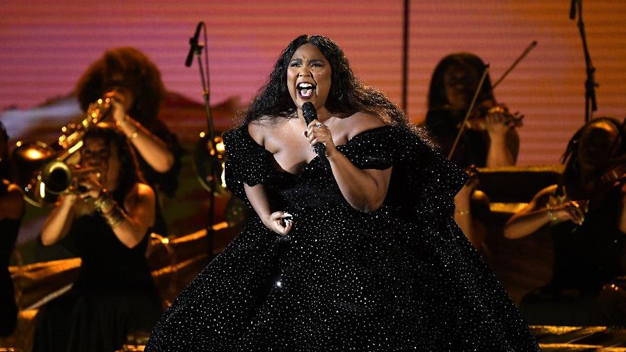 Lizzo ganhou três dos oito prêmios aos quais foi indicada no Grammy 2020 - Kevork Djansezian/Getty Images/AFP