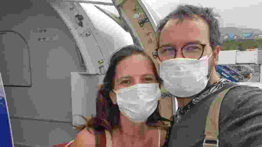 Após nove dias de aflição, finalmente a volta para casa - Luciana Sarmento