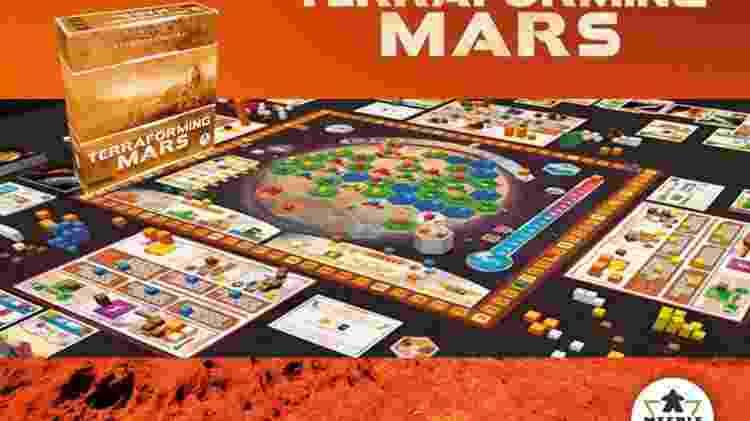 Terraforming Mars 1 - Divulgação/MercadoLivre - Divulgação/MercadoLivre