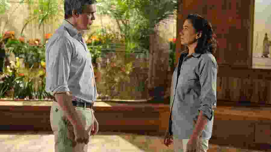 Renê ( Dalton Vigh ) e Griselda ( Lilia Cabral )  - TV GLOBO / Renato Rocha Miranda