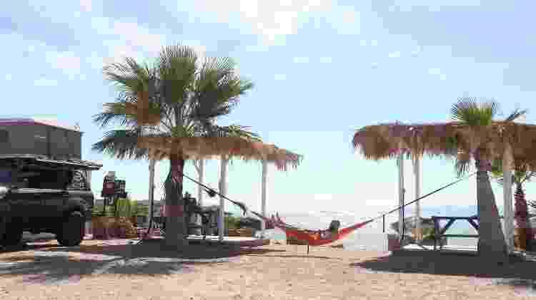 Camping em Baja California, México - Arquivo pessoal - Arquivo pessoal