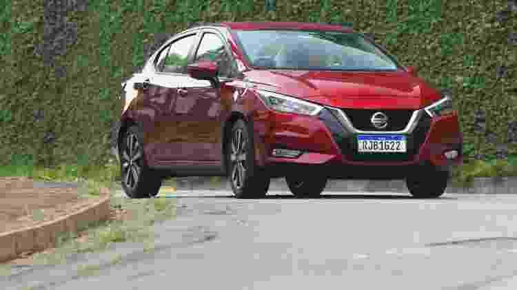 Nissan Versa 1 - Murilo Góes/UOL - Murilo Góes/UOL