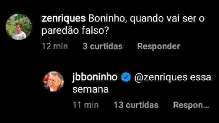 BBB 21: Boninho fala sobre paredão falso no reality show - Reprodução/Instagram - Reprodução/Instagram