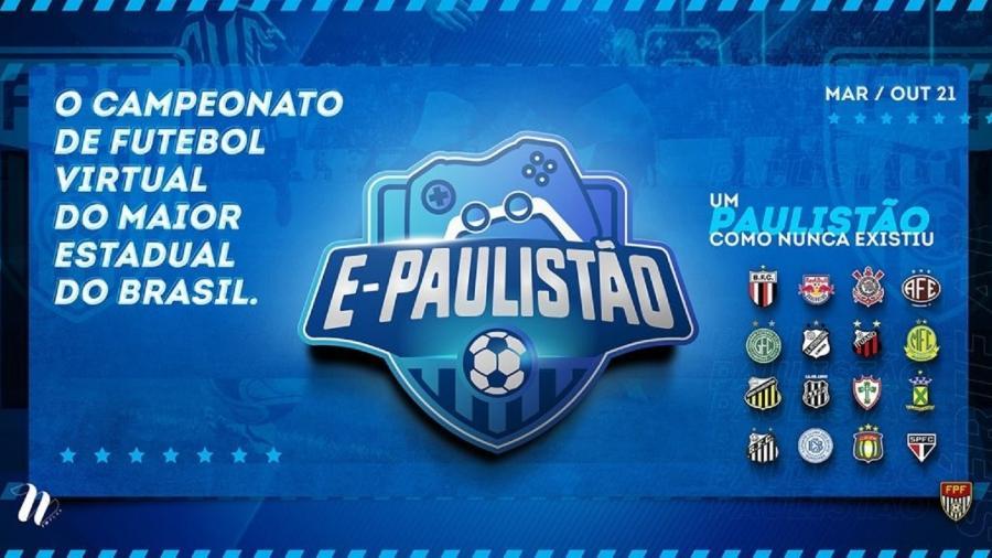 E-Paulistão Futebol Virtual - Divulgação/E-Paulistão