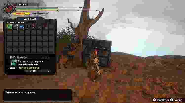Monster Hunter Rise Baú - Daniel Esdras/GameHall - Daniel Esdras/GameHall