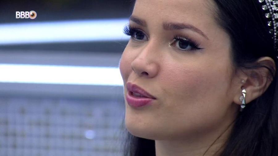 BBB 21: Juliette se diz feliz com vitória na última prova do líder - Reprodução/Globoplay