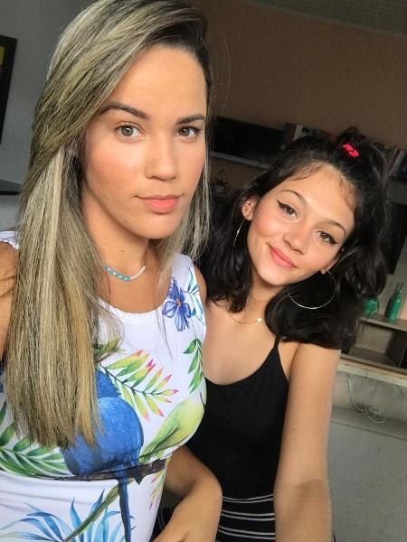 Bruna e Laila fazem sucesso nas redes sociais falando sobre a relação entre enteada e madrasta - Acervo pessoal