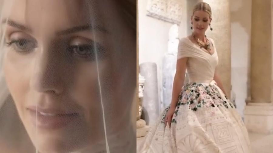 Lady Kitty Spencer mostra detalhes do casamento com milionário sul-africano - Reprodução/Instagram
