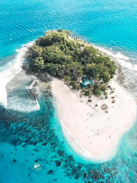 Brother Island, em El Nido, nas Filipinas - Reprodução/Airbnb