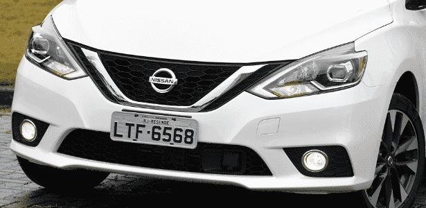 Nissan Sentra SL frente - Murilo Góes/UOL - Murilo Góes/UOL