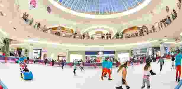 b03ed311c6f Pista de patinação tem 430 metros quadrados e oferece todos os equipamentos  para quem quiser patinar Imagem  Divulgação