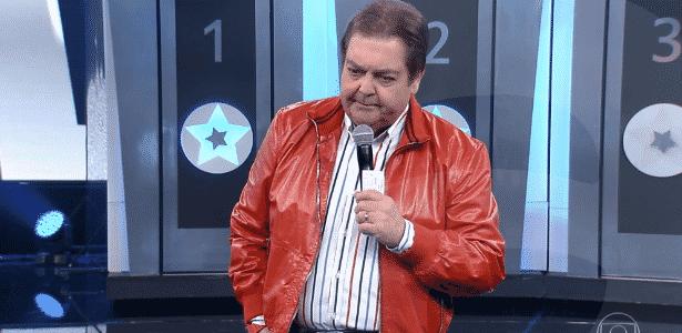 Faustão diz em rede nacional que tem mulher que gosta de levar porrada - Reprodução/TV Globo