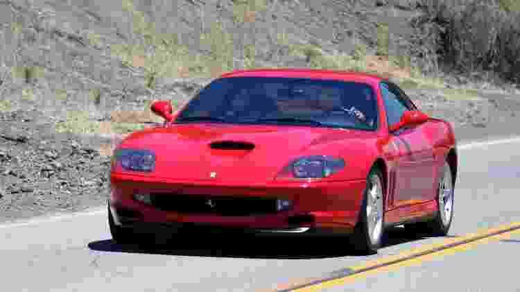 Ferrari 550 Maranello - Reprodução - Reprodução