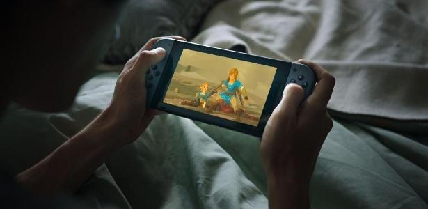 Comercial do Super Bowl reforça portabilidade do Nintendo Switch - Divulgação
