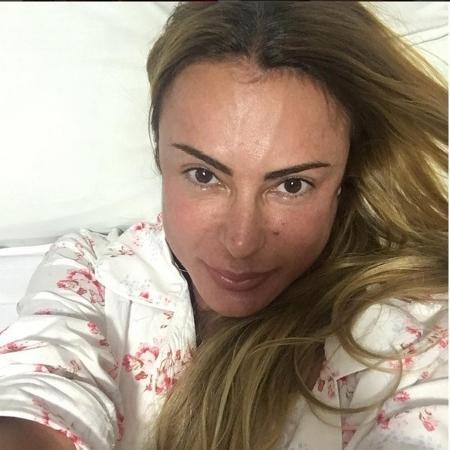 Marilene já faz fisioterapia em casa para acelerar o processo de recuperação - Reprodução/Instagram/@mari_saade