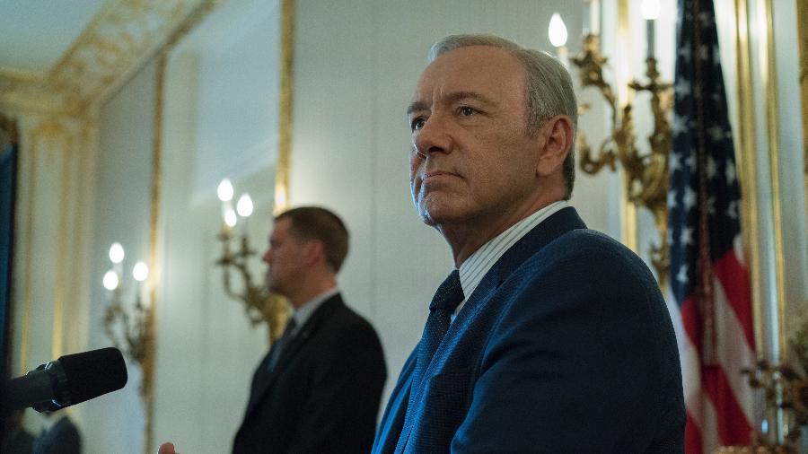 """Kevin Spacey, astro de """"House of Cards"""" - Divulgação/Netflix"""